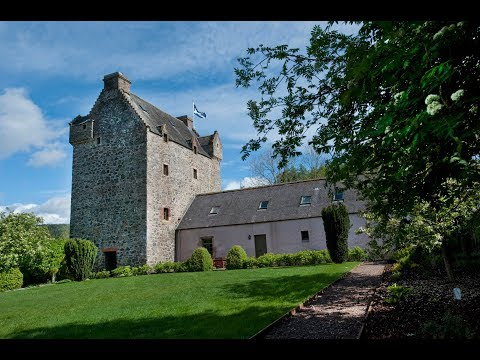 Aikwood Tower | Stay in a luxurious 500 year old Scottish Peel Tower