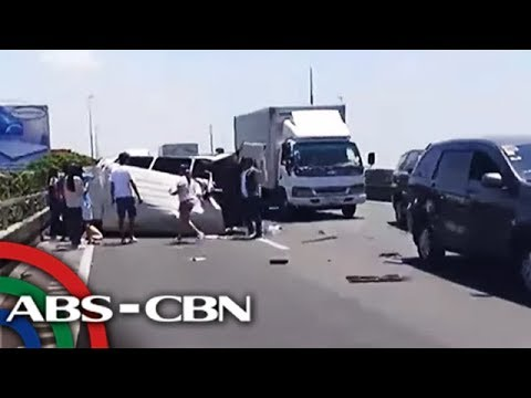 Several dead and wounded in NLEX crash | ANC