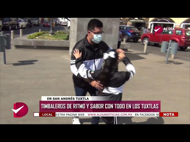 NADIA   TIMBALEROS DE RITMO Y SABOR CON TODO EN LOS TUXTLAS