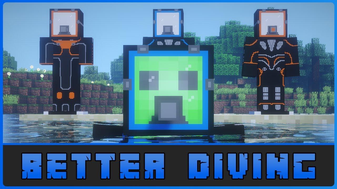 игры майнкрафт водолаз #9