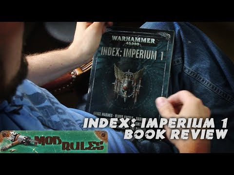Book review: 8th edition Index Imperium 1 for Warhammer 40k