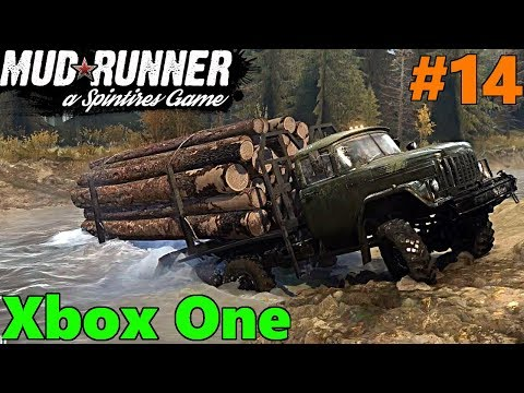 SpinTires Mud Runner: Xbox One Let's Play! Part 14 | SEASHOR