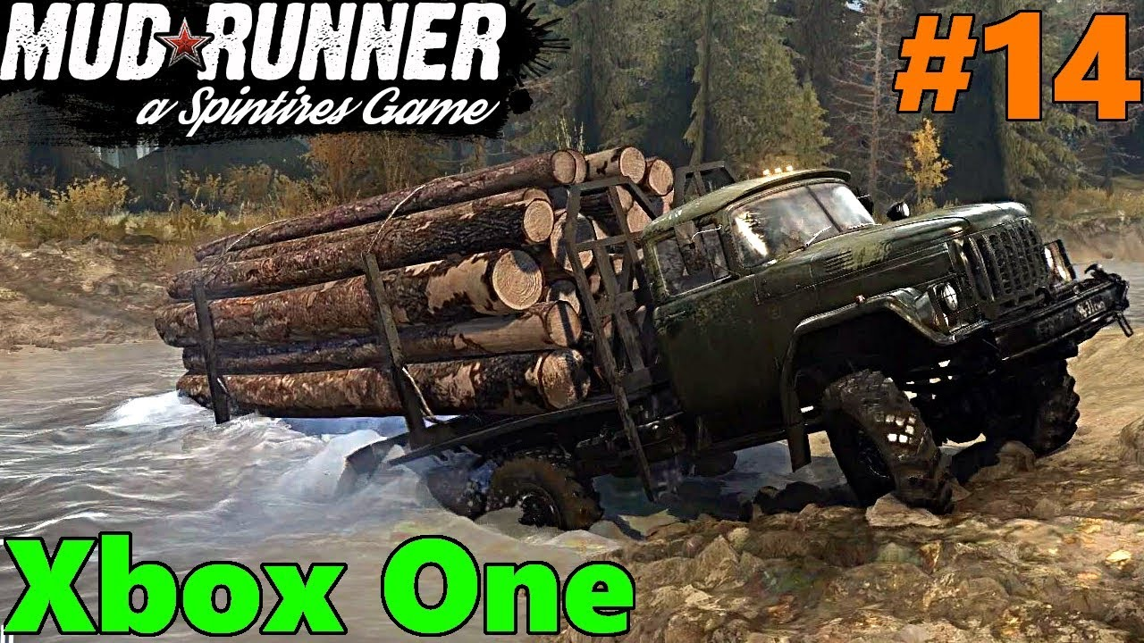 spintires mud runner xbox one let 39 s play part 14