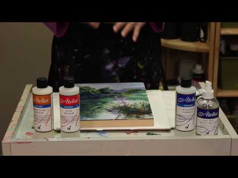Chroma, Inc. Presents TOP 10 TIPS For Acrylic Painting Success with Atelier Interactive Acrylics