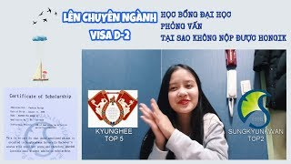 MÌNH ĐÃ ĐỖ ĐẠI HỌC TẠI HÀN QUỐC NHƯ THẾ NÀO - KINH NGHIỆM - VẤP NGÃ   Ly Nguyễn