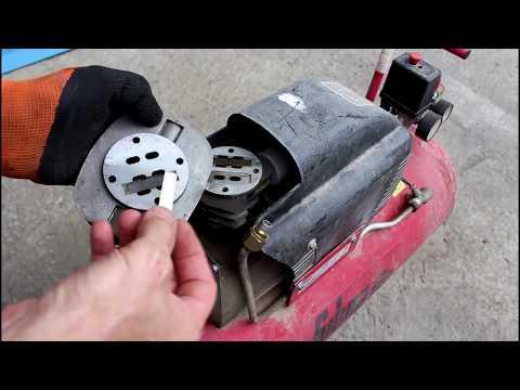 Ремонт компрессора своими руками