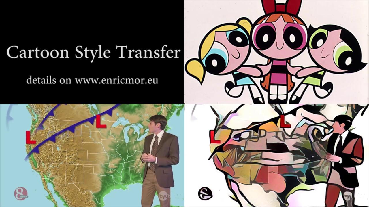 Cartoon Style Transfer , YouTube