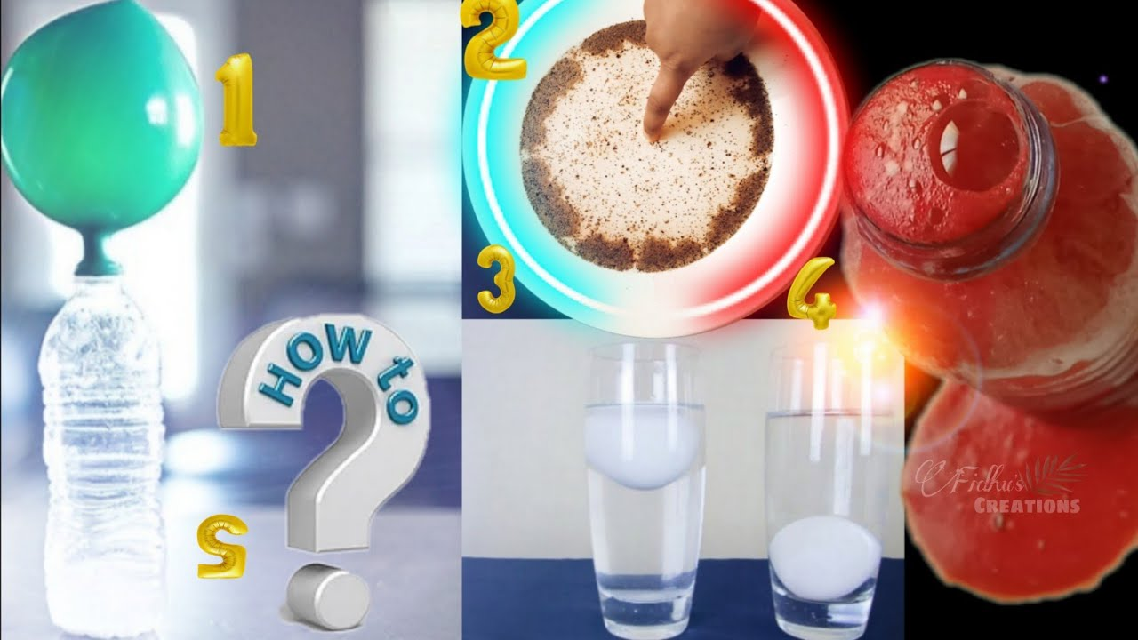 Download 5 easy experiment for kids at home -Malayalam/Science Experiments/Fidhu's Creations