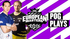#EUMasters Pog Plays! Semifinals & The Final