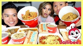 Gambar cover EPIC JOLLIBEE MUKBANG | EATING SHOW | Arnold Telagaarta  먹방