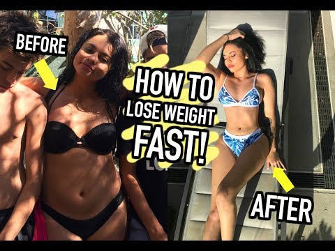 How to Lose Weight FAST! (the real and healthy way)