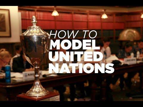 Model UN Explained! (The Evatt Competition)