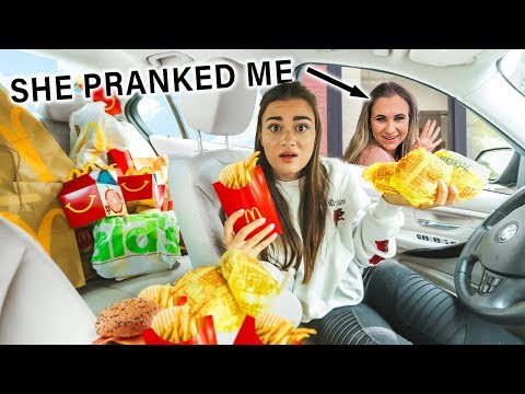 Letting The Person In Front Of Me Decide What I Eat (PRANK) thumbnail