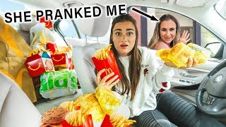Download Letting The Person In Front Of Me Decide What I Eat (PRANK) Mp3 and Videos