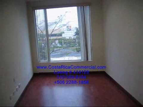 Costa Rica Commercial office space for rent in Escazu.wmv