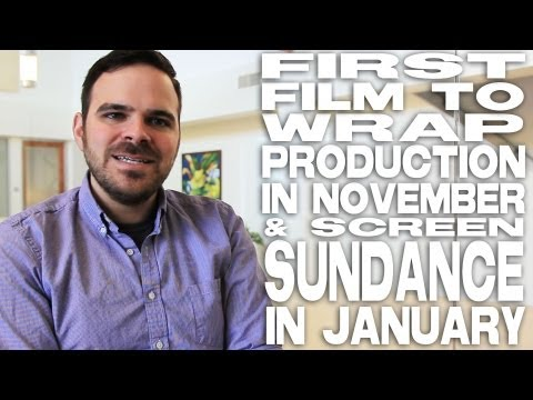 1st Film To Wrap Production In November & Screen Sundance In January by Kyle Patrick Alvarez