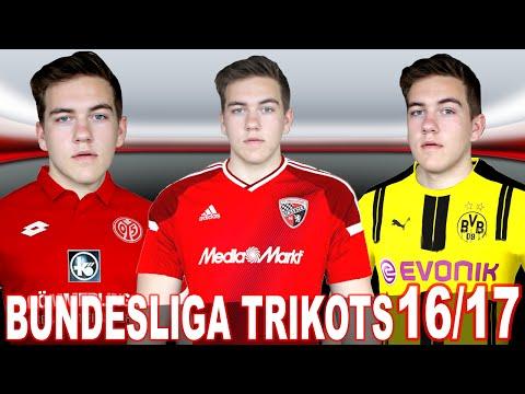 NEUE BUNDESLIGA TRIKOTS 2016/2017 [Bayern München, Borussia Dortmund, ...] - meine Meinung