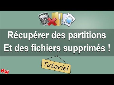 [Tuto] Récupérer des partitions et des fichiers supprimés !   Fr