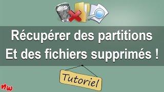 [Tuto] Récupérer des partitions et des fichiers supprimés ! | Fr