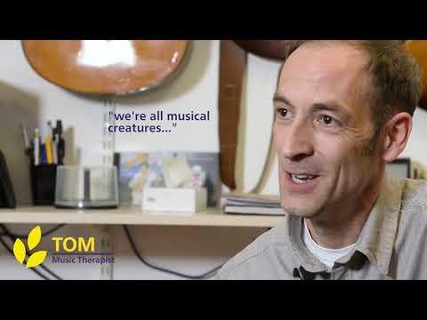 Tom - Music Therapist, Sobell House