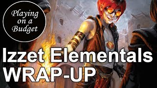 MTG Standard: Izzet Elementals Wrap-Up - Playing on a Budget