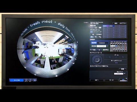 インテリジェンス機能を備えた9メガ全方位カメラ