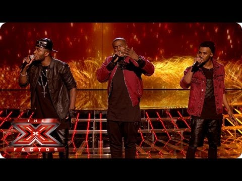 Rough Copy sings Crying Your Heart Out by Oasis - Live Week 7 - The X Factor UK 2013