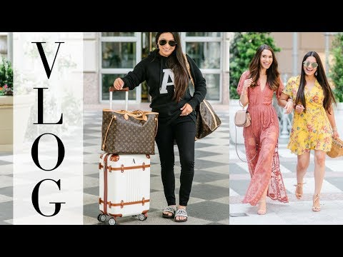 VLOG - SPEND THE WEEKEND WITH ME - Rewardstyle Conference #rsthecon | LuxMommy