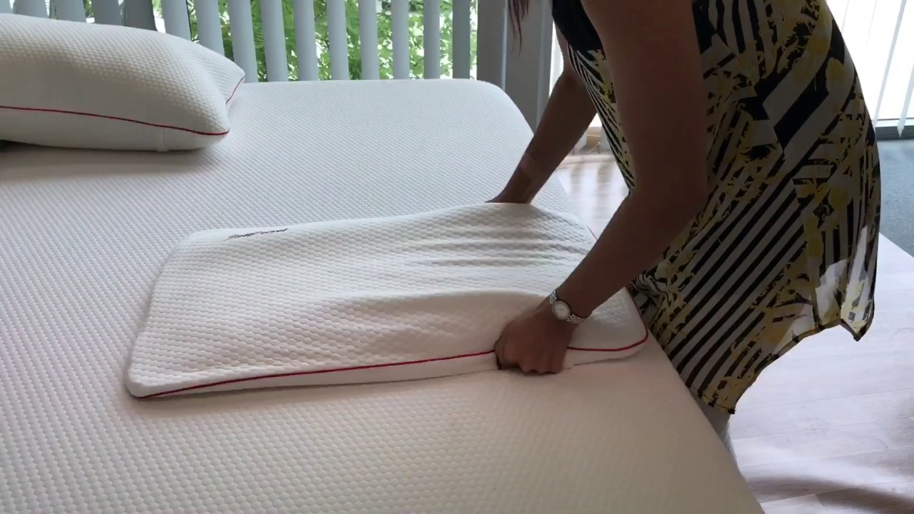 how to fluff a compressed memory foam pillow youtube. Black Bedroom Furniture Sets. Home Design Ideas