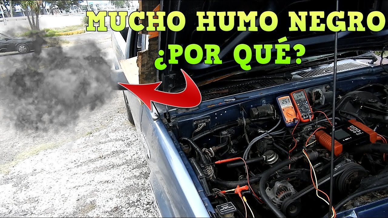Dodge Dakota 89 tarda en encender y echa humo negro | Omar VW