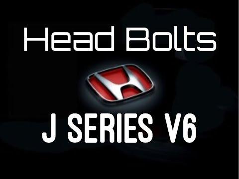 Honda Accord V6 Head Gasket Bolt Replacement Tips and Tricks - Head Bolt Torque Specs Pattern