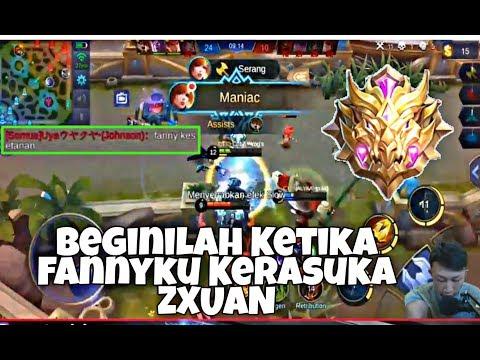 FANNY GUA Kerasukan FANNY ZXUAN , Mobile Legends Bang Bang thumbnail