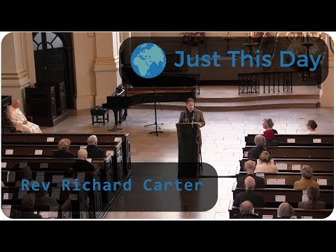 Just This Day 2017 - Rev Richard Carter