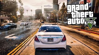 NUOVA GRAFICA SU GTA 5 - GAMEPLAY CON NATURAL VISION - GTA 5 MOD ITA