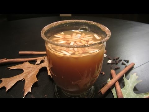 How to make a simple White Glogg  A non alcoholic mulled apple cider & Finnish inspired glögi recipe