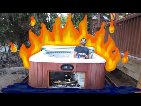 DIY Hot tub Makeover