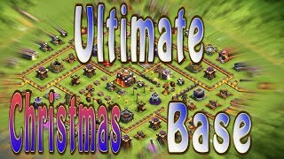 Ultimate Christmas Tree Spawn Base | Clash of Clans How to Get a Christmas Tree