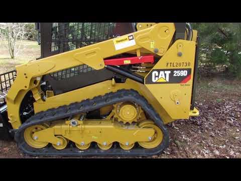 Cat 305.5e2 & Cat 259d walkaround