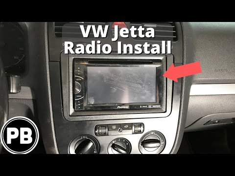 2005 - 2010 VW Jetta Bluetooth Stereo Install - YouTube