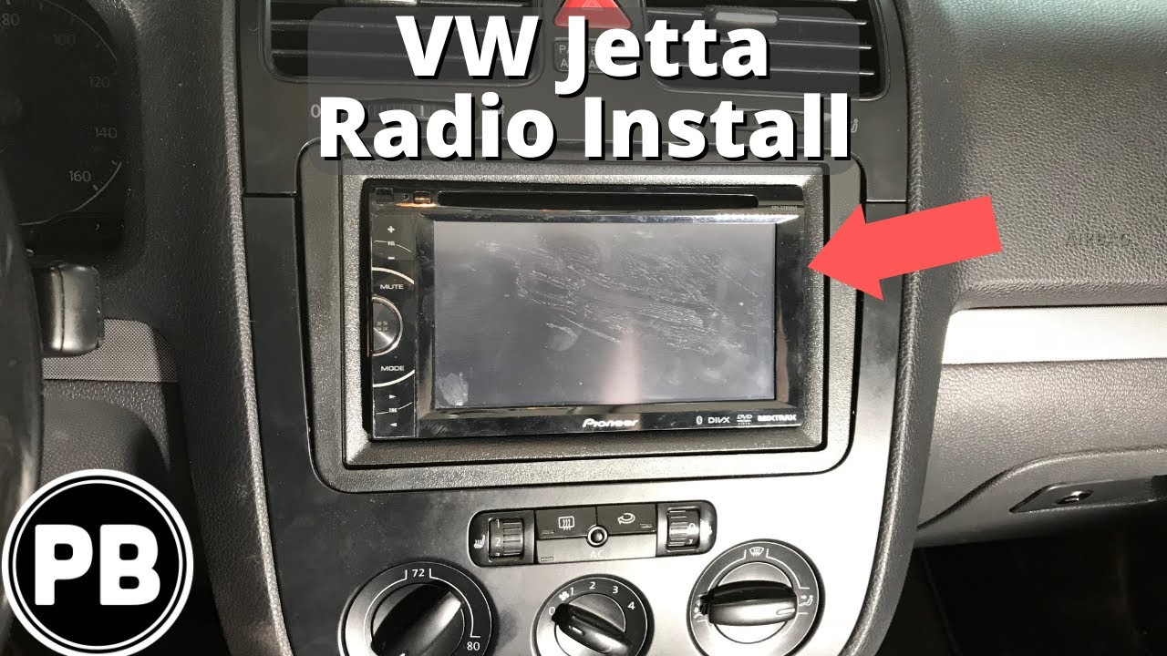 medium resolution of 2005 jetta stereo wiring harness wiring diagram operations 2005 2010 vw jetta bluetooth stereo install youtube
