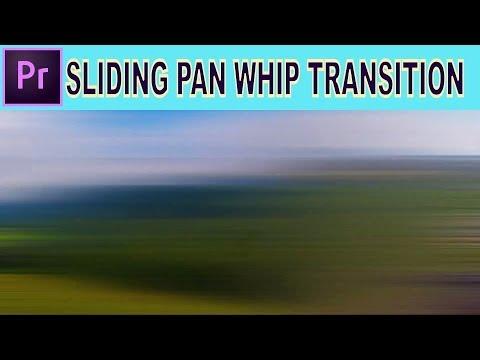 Sliding Pan Whip Transition - Adobe Premiere Pro Tutorial thumbnail