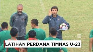 Latihan Perdana Timnas Indonesia U-23, Luis Milla Gembleng Timnas