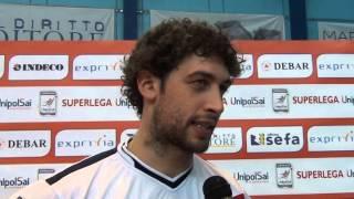 15-11-2014:Davide Candellaro nel post Molfetta-Mon