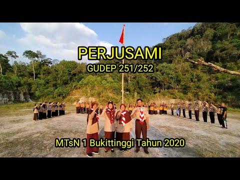 Perjusami Gudep 251/252 MTsN 1 Bukittinggi