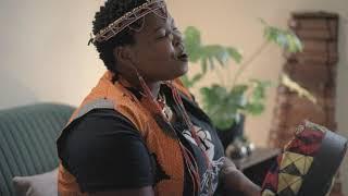 Sky Dladla performs the Nyunga-Nyunga