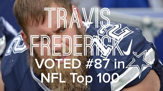 Travis Frederick Voted #87 in NFL Top 100 Players 2017