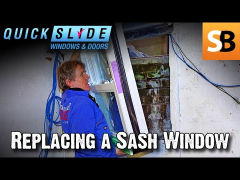 How to Replace a Sash Window with Quickslide