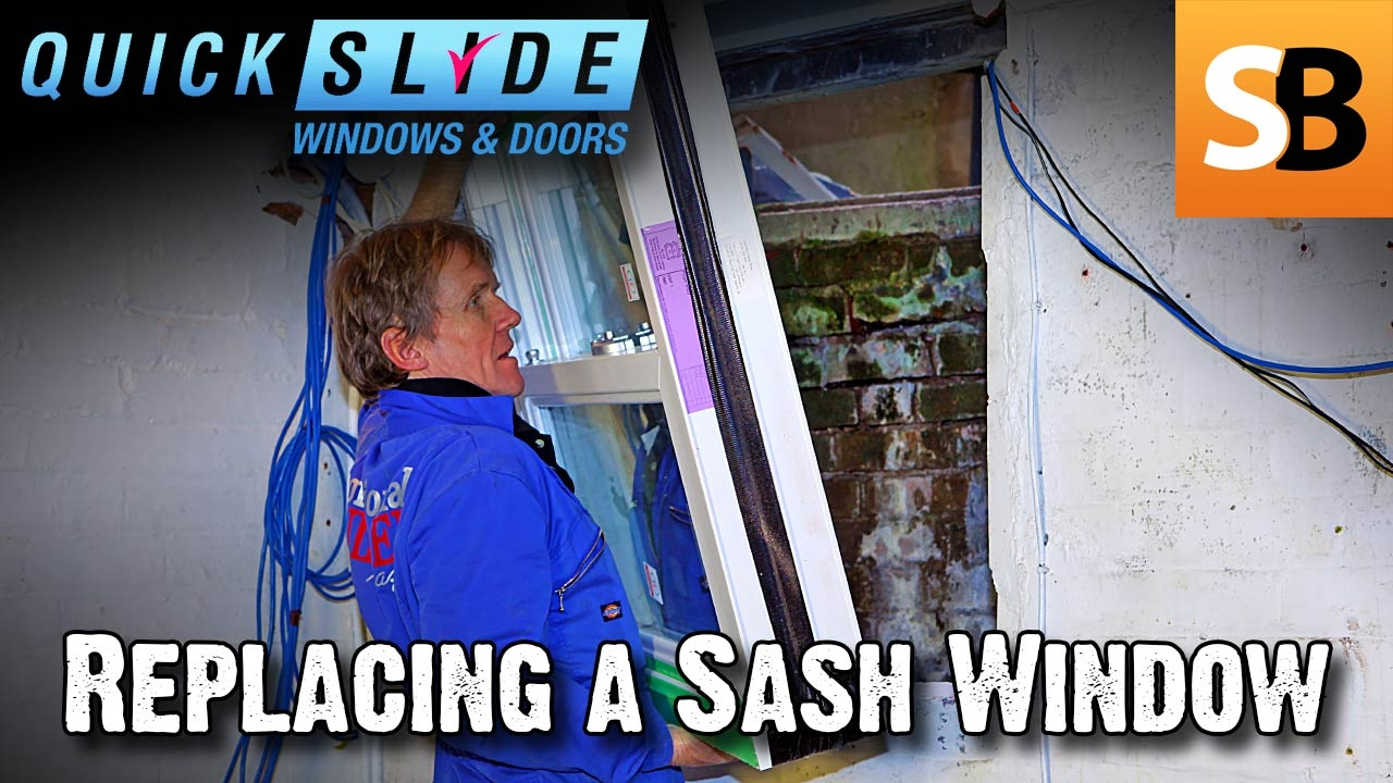 How to Replace a Sash Window with Quickslide  sc 1 st  YouTube & How to Replace a Sash Window with Quickslide - YouTube