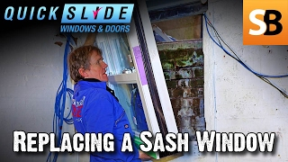 Replacing A Sash Window With Quickslide