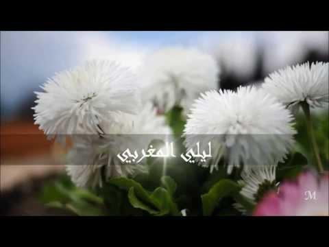 ليلي المغربي زهرة الحب الندية